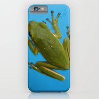 iPhone & iPod Case featuring Tree Frog by Kama Storie