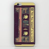 Are You Happy?  |  Casse… iPhone & iPod Skin