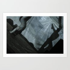 Contortion II Art Print