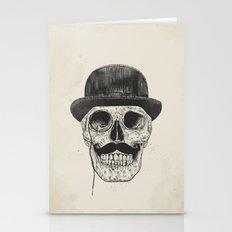 Gentlemen Never Die Stationery Cards