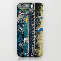 iPhone Cases featuring Summer by Sébastien BOUVIER