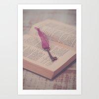 The Key To Imagination Art Print