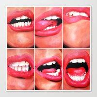 Oral Fixation 1 Canvas Print