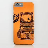 iPhone & iPod Case featuring Fat Beat! by Alfredo Canales  //  Elmotín