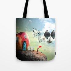 The Music Traveler Tote Bag