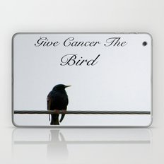 Give Cancer the Bird 2 Laptop & iPad Skin