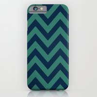 3D in Ocean Tones iPhone 6 Slim Case