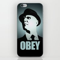 OBEY (Fringe) iPhone & iPod Skin