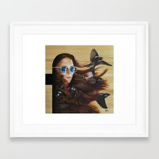 While Life Passes By Framed Art Print