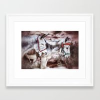 The Laughing A$$ Framed Art Print