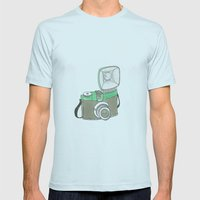 willy´s diana Mens Fitted Tee Light Blue SMALL