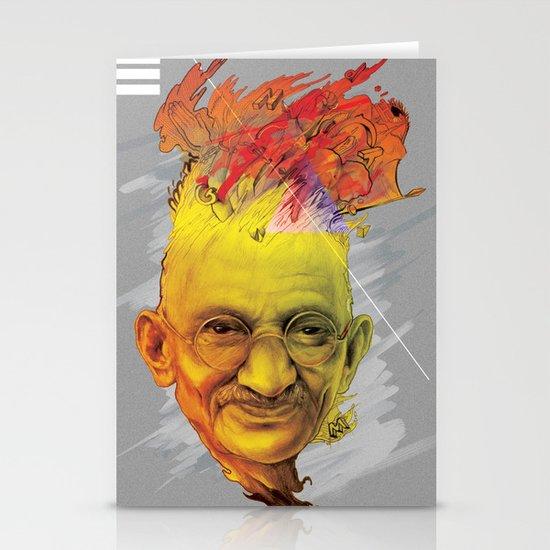 Mahatma Stationery Card
