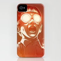 iPhone 4s & iPhone 4 Cases featuring FIREEE! by Dr. Lukas Brezak