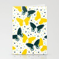 Butterflies two Stationery Cards