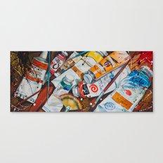 Paint Splash! Canvas Print