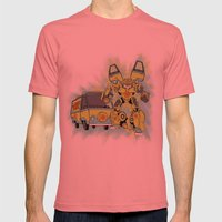 Mystery Autobot Mens Fitted Tee Pomegranate SMALL