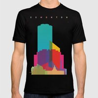 Shapes Of Edmonton Mens Fitted Tee Black SMALL