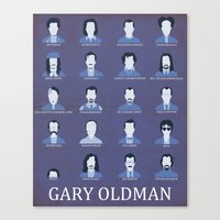 Gary Oldman Canvas Print