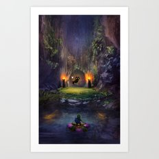 A Terrible Fate Art Print
