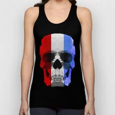 Polygon Heroes - The Patriot Skull Unisex Tank Top