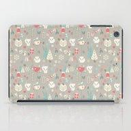 Baby Fox Pattern 03 iPad Case