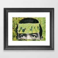 Cultivate Your Mind Framed Art Print