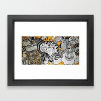 Born To Be Wild. Framed Art Print