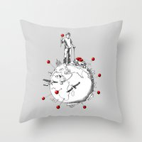 World Traveler Throw Pillow