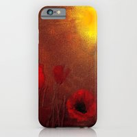 iPhone & iPod Case featuring FLOWERS - Poppy heaven by Valerie Anne Kelly