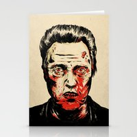 Walken Dead Stationery Cards