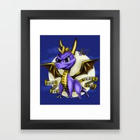 Fight For Whats Right Framed Art Print