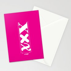 XXX-height. Stationery Cards