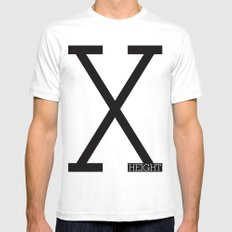X-Height Mens Fitted Tee White SMALL