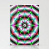 Web Star Stationery Cards