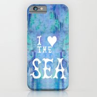 I Love the Sea 2 iPhone 6 Slim Case