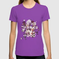 No Thanks I'm Good Womens Fitted Tee Ultraviolet SMALL