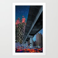 the built environment Art Print