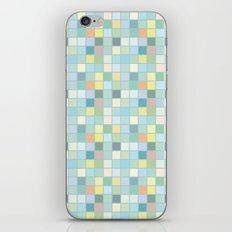 Pastel Squares iPhone & iPod Skin