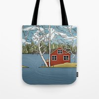 Lake House Tote Bag