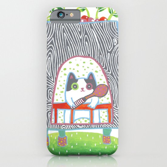Food court_01 iPhone & iPod Case