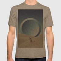 Rebel Mens Fitted Tee Tri-Coffee SMALL