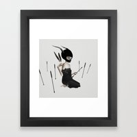 Odi Et Amo Framed Art Print