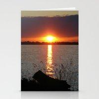 Sunset Brilliance Stationery Cards