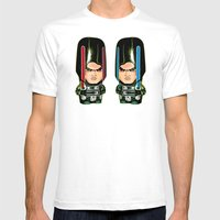 Starkiller Mens Fitted Tee White SMALL