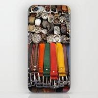 Italian Leather Belts, F… iPhone & iPod Skin