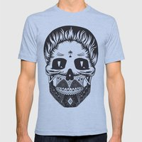 Calavera Mens Fitted Tee Athletic Blue SMALL