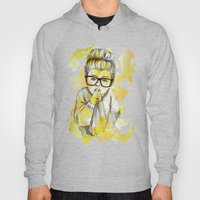 Silent girl by carographic Hoody