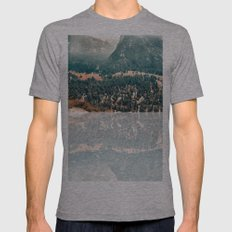 Yosemite Valley - Fall Colors Mens Fitted Tee Athletic Grey SMALL