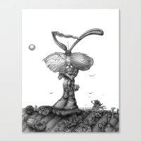 Ed Jack Rabbit Canvas Print