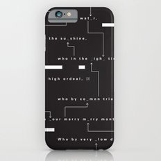 Who By Fire iPhone 6 Slim Case
